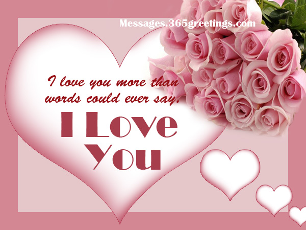 I Love You. Love Quotes For Your Him