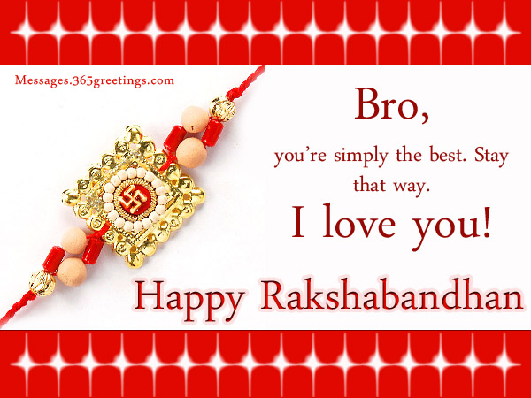 Raksha bandhan messages 365greetings make the bonds stronger with these raksha bandhan wishes and rakhi messages for brothers and sisters these happy rakhi wishes will let your siblings know m4hsunfo