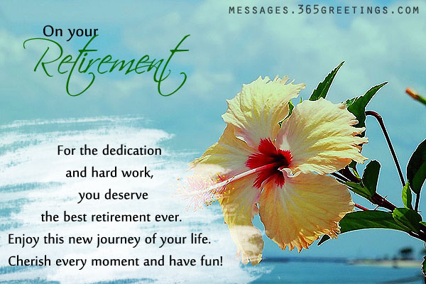 Retirement Wishes And Messages 365greetingscom