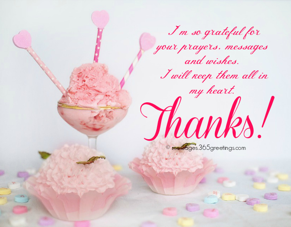 Birthday thank you messages thank you for birthday wishes how to say thank you for birthday wishes m4hsunfo