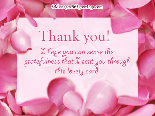 Thank you card messages 365greetings thank you card messages m4hsunfo