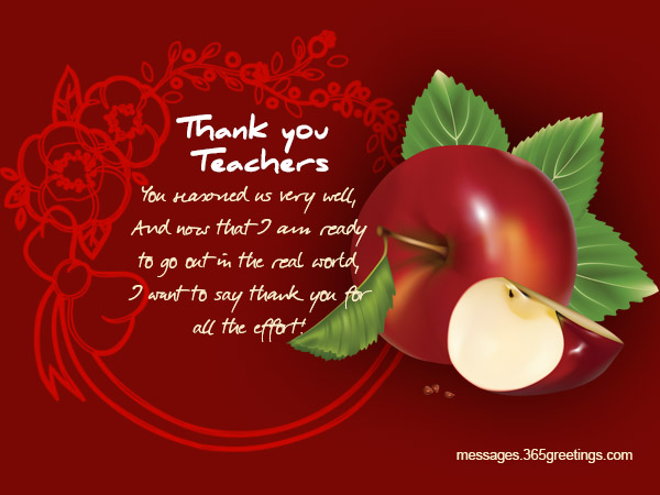 Thank you messages for teachers 365greetings every time i stand up to receive an award or an accolade or even a simple word of praise i remember where it all started right in your classroom where you m4hsunfo