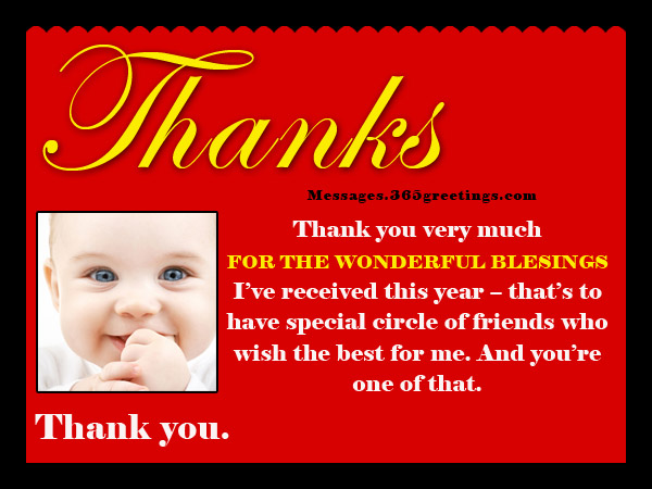 Birthday thank you messages thank you for birthday wishes thank you birthday wishes to friends m4hsunfo Images