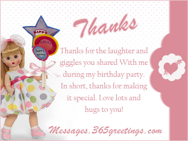 Birthday Thank You Messages Thank You for Birthday Wishes – Thanks for the Birthday Greeting
