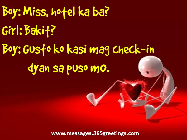 Sweet Pick Up Lines Tagalog For Guys