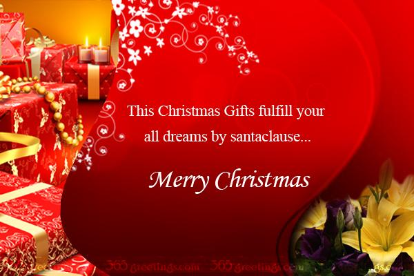 Christmas Poems - Messages, Greetings and Wishes