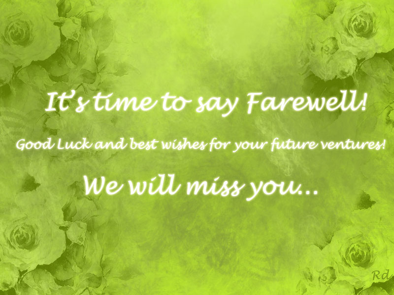 Farewell gift ideas - Messages, Wordings and Gift Ideas