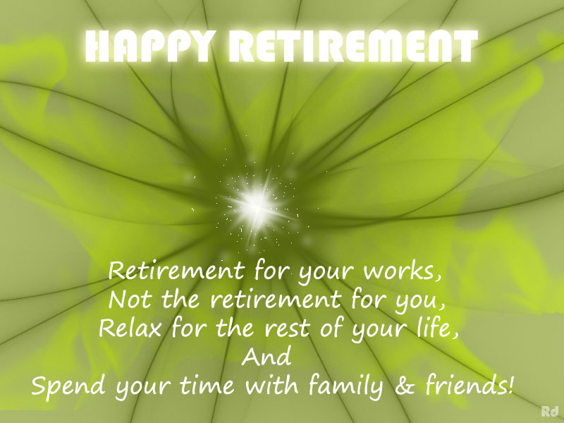 e card on retirement and quotes