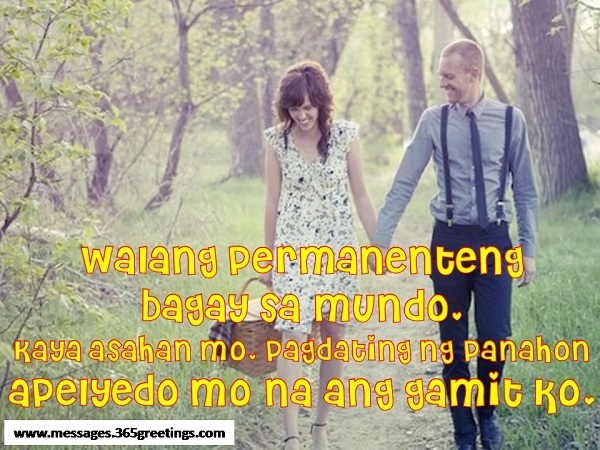 Pagdating ng panahon quotes on love