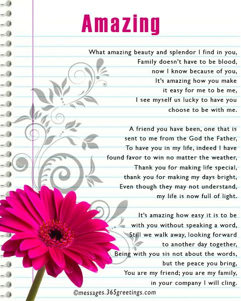 Friendship Poems 365greetingscom