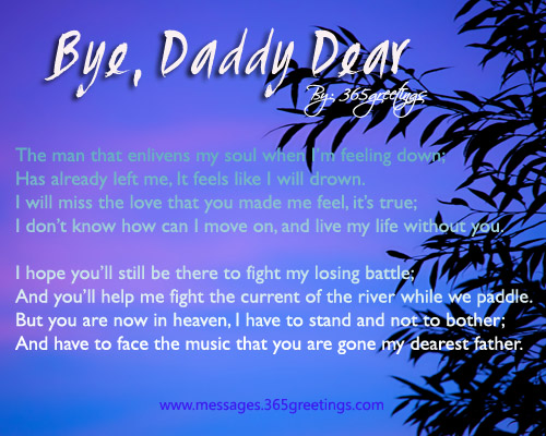 Dad in Heaven Poems From Daughter