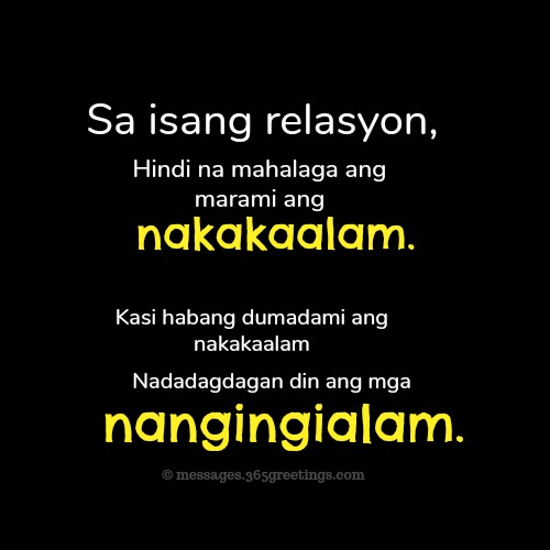Tagalog Love Quotes 365greetingscom