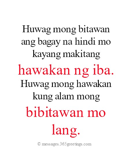 Tagalog Love Quotes - 365greetings.com
