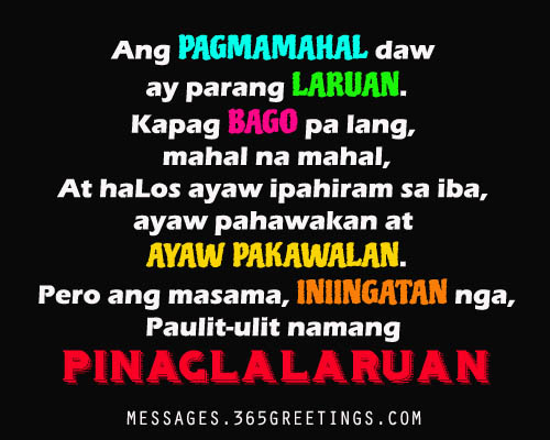 Love Tagalog quotes for her Tagalog Love Quotes for her from the