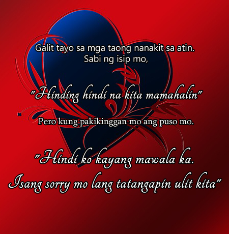 Love Picture  on Tagalog Love Quotes For Him   Holiday Messages  Greetings And Wishes