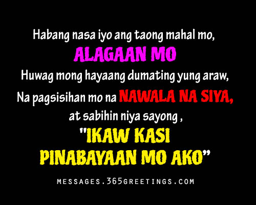 Tagalog Quotes Amusing Tagaloglovequotespicture  365Greetings