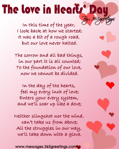 love in hearts day"