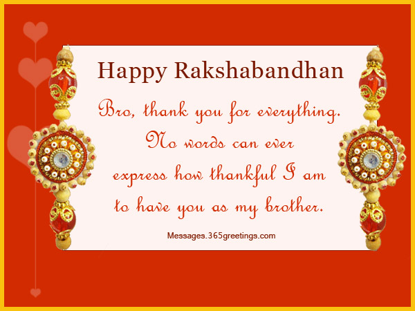 rakhi messages for brother raksha bandhan messages 365greetings com,Raksha Bandhan Invitation Messages