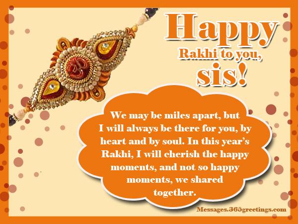 sample letter to brother on rakhi