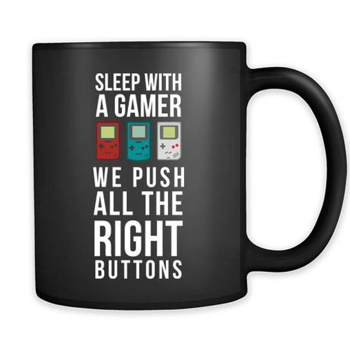 this clever little cup is sure to push all the right buttons for your gamer boyfriend hell love that you took the time to acknowledge his favorite pastime