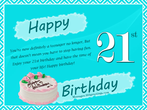 21st Birthday Wishes Messages and Greetings Messages Greetings – Funny 21st Birthday Card
