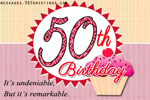 50th Birthday Wishes and Messages 365greetings – Verses for 50th Birthday Cards