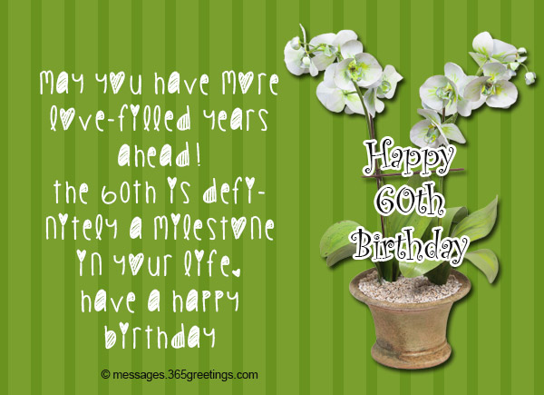 60th Birthday Wishes Quotes And Messages 60greetings Extraordinary Quotes 60th Birthday