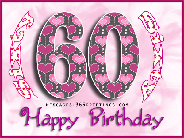 60th Birthday Wishes Quotes And Messages