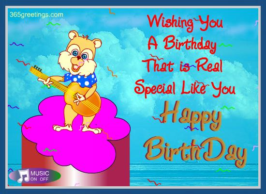 Happy Birthday Card from 365greetings 365greetings – Birthday Greeting Card for Teacher
