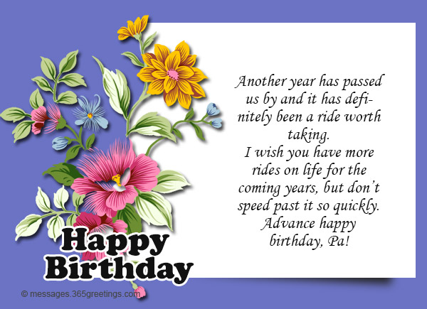 Advance birthday wishes message 07 365greetings advance birthday wishes message 07 m4hsunfo