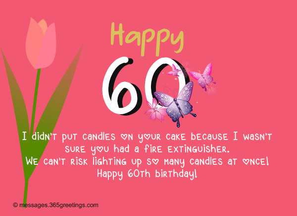 Best Birthday Wishes 365greetings – 60th Birthday Sayings for Cards