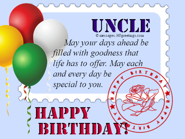 Birthday Wishes for Uncle - 365greetings com