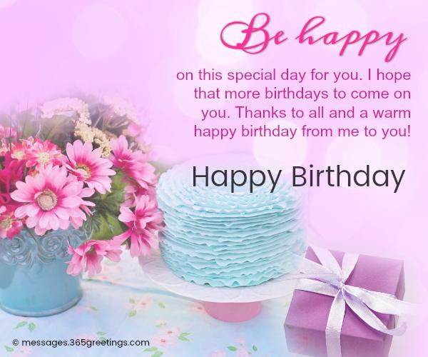 Happy birthday wishes and messages 365greetings birthday messages m4hsunfo