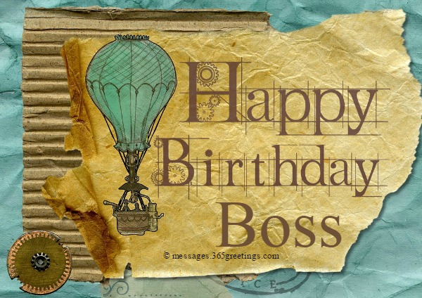 Happy Birthday Quotes for Boss