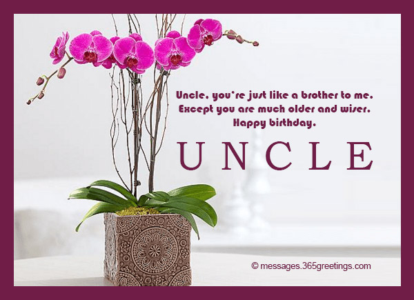 Birthday Wishes For Uncle 365greetingscom
