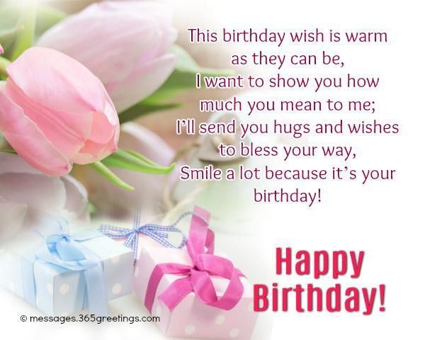 Happy Birthday Wishes And Messages 365greetings Com Happy Birthday Wishes Images