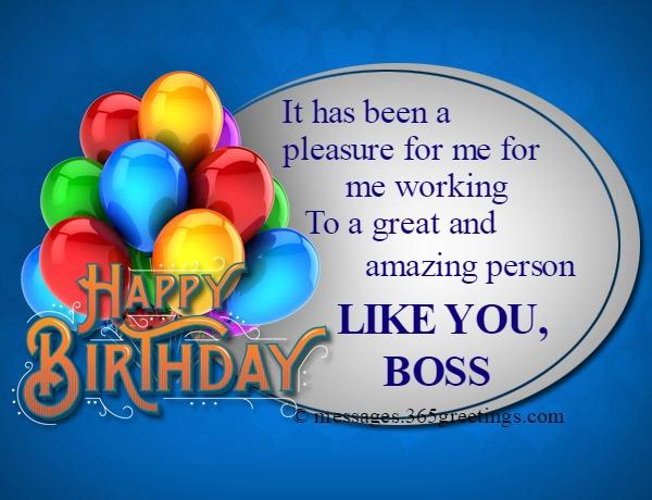 Birthday Wishes For Boss 365greetingscom