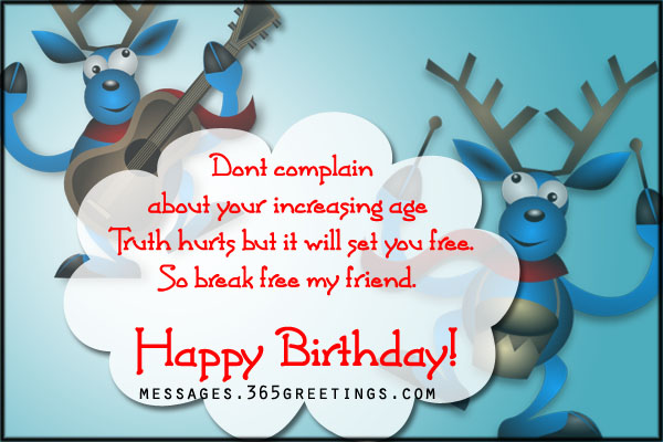 funnybirthdaycard 365greetings – Words for a 50th Birthday Card