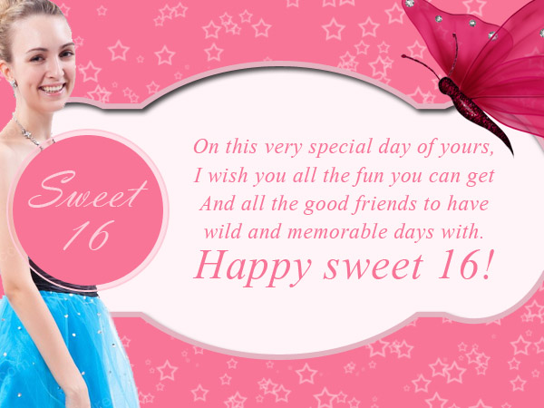16th Birthday Wishes Messages Greetings and Wishes – What to Say in a Happy Birthday Card