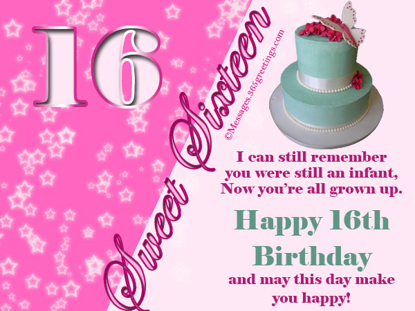 happy sweet 16 birthday quotes
