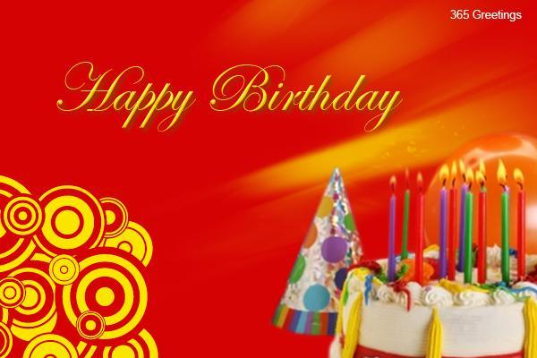 happybirthdaycards Messages Greetings and Wishes – Greetings of Happy Birthday