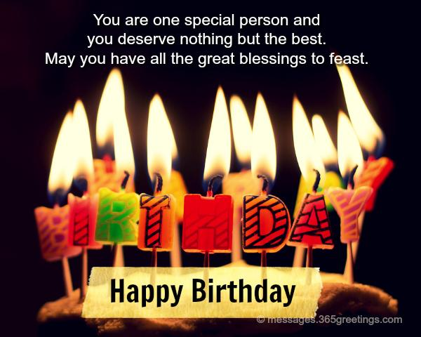 Happy birthday wishes and messages 365greetings i feel thankful to god for he gave me a special blessing you are the gift that i will always cherish happy birthday sciox Image collections