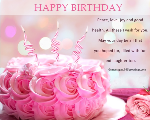 Happy Birthday Wishes and Messages - 365greetings com