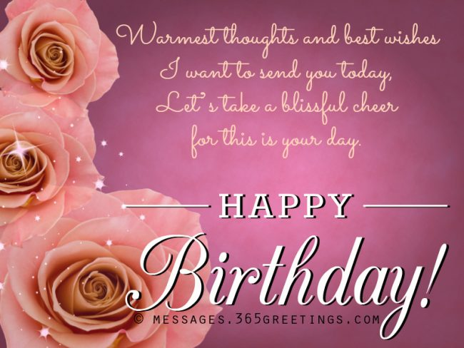 Inspirational Happy Birthday Messages
