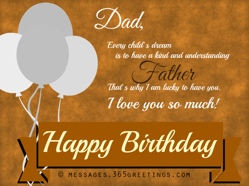 happybirthdaywishesfordad 365greetings – Birthday Greeting Dad