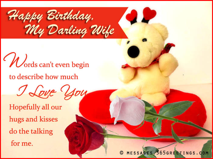 Happy birthday wishes for wife 365greetings happy birthday wishes for wife m4hsunfo