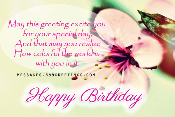 Inspirational birthday messages 365greetings inspirational birthday messages m4hsunfo