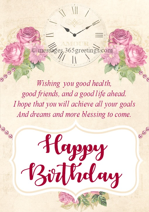 Inspirational Birthday Messages - 365greetings com