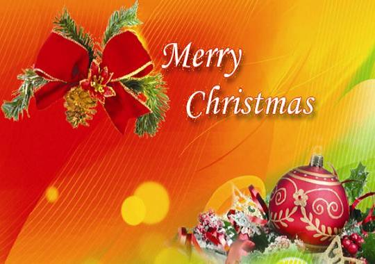 Merry Christmas Greetings  Christmas Wishes Samples