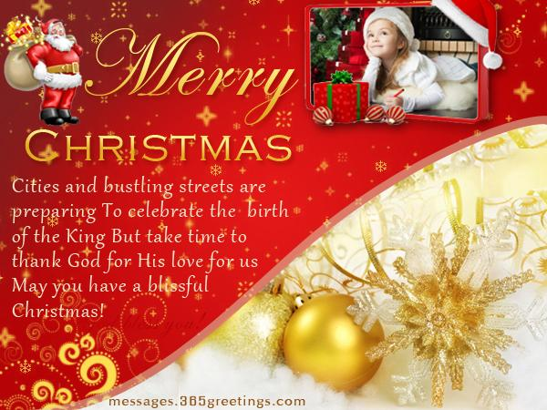 Merry Christmas Messages, Greetings and Christmas Wishes